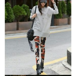 Pants - Camouflage leggings army stretching great quality