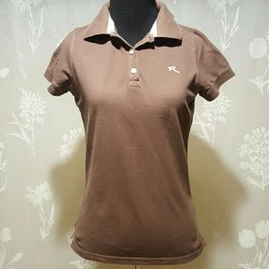 Ruehl No. 925 Tops - FINAL! Brown polo