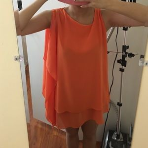 Dresses & Skirts - Hi-lo chiffon dress