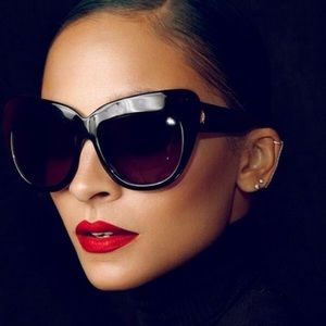 House of Harlow red sunglasses