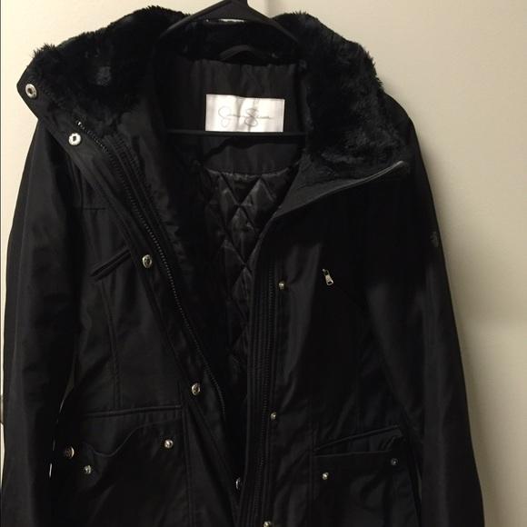 Jessica Simpson Black Winter Coat