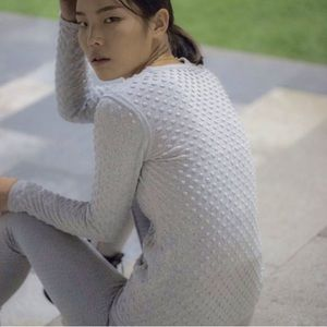 Emily Keller Sweaters - NWT Emily Keller Textured Merino Cotton Sweater