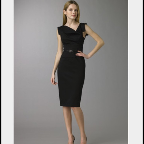 817517c940e Black Halo Dresses   Skirts - Black Halo Jackie O Belted Dress - Black