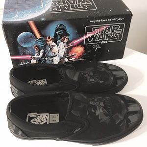fe03dcd6b8bfe3 Vans Shoes - ⬇️Star Wars Dark Side Darth Vader Vans