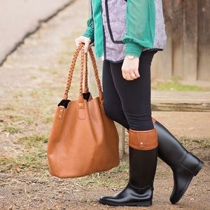 Dirty Laundry Riding Rain Boots 7