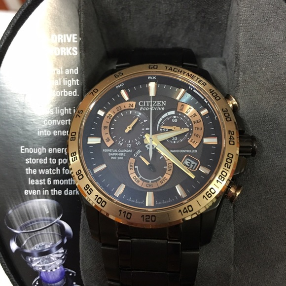 Citizen Accessories Ecodrive Perpetual Chrono At Brand New Poshmark