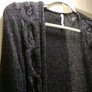 Willow & clay wool/ mohair cardigan