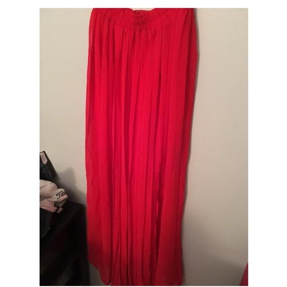 37 h m dresses skirts brand new h m chiffon