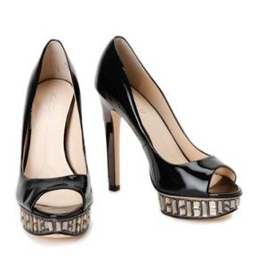 Christian Louboutin Shoes - High heels pumps with rhinestones