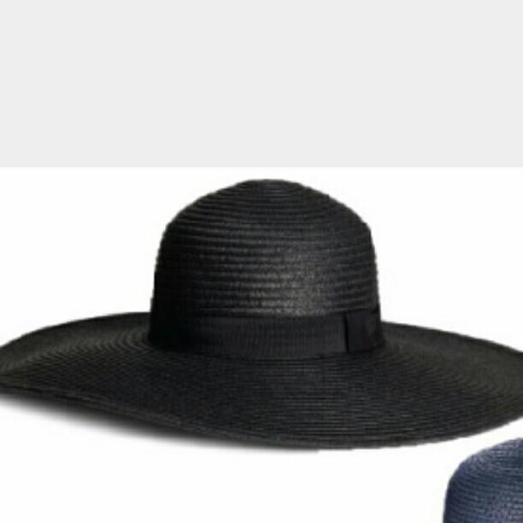 h m accessories black floppy hat poshmark. Black Bedroom Furniture Sets. Home Design Ideas