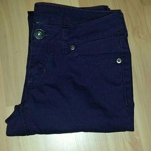 City Streets Denim - Dark purple skinny jeans