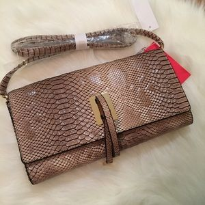 Handbags - Python Flap Over Messenger Bag