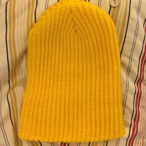 Urban Outfitters Accessories - Yellow UO Beanie 02b00f3c4d4