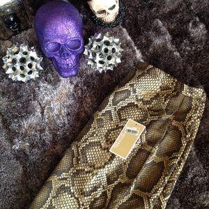 Michael Kors Dresses & Skirts - Michael kors snake skin pencil skirt