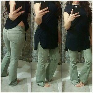 Zara Denim - |SALE|• Stephen Hardy Green Jeans •