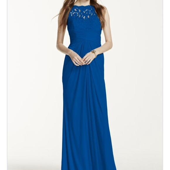 David S Bridal Dresses Davids Bridal Royal Blue Dress