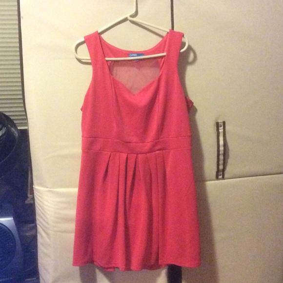 543373d651 Heart cutout skater dress. M 56bc3ddbd3a2a73bdd00b9d4