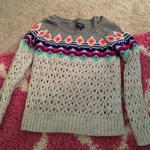 American eagle sweater funky design comfy fun cute