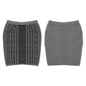 Emily Keller Dresses & Skirts - NWT Reversible Merino Wool Textured Skirt