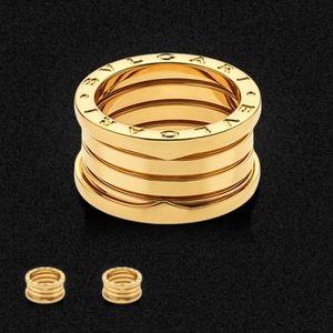 bvlgari bzero 1 4band 18 karat yellow gold ring