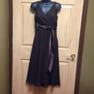 Rena Rowan dress brown size 6