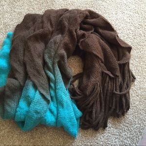 Ombré Betsey Johnson scarf