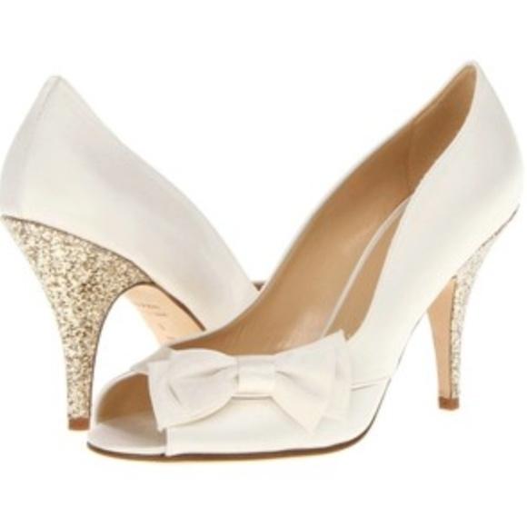 Kate Spade Ivory Wedding Shoes