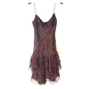 Ralph Lauren 100% silk Dress