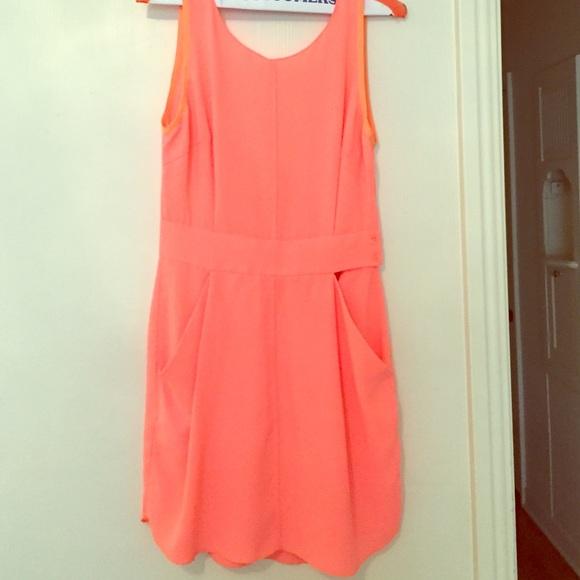 Low back bright aritzia dress & Wilfred- Aritzia Dresses | Low Back Bright Aritzia Dress | Poshmark
