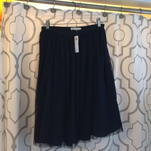 Dresses & Skirts - Boutique Navy tulle skirt