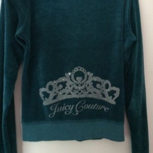 Juicy Couture Jackets & Coats - Teal blue Juicy Couture Jacket!