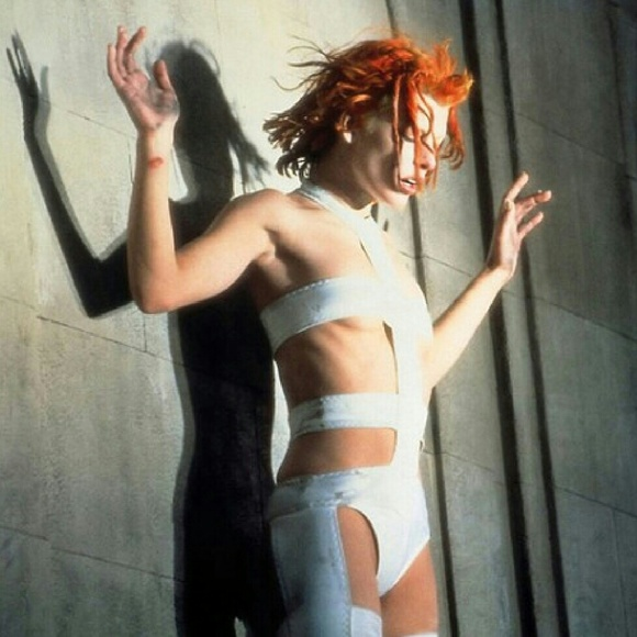 Leeloo from Fifth Element bandage dress