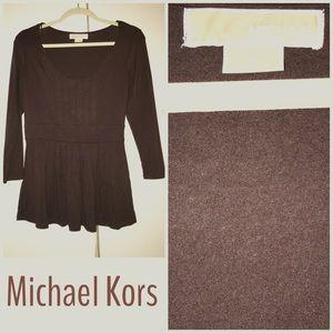MICHAEL Michael Kors Tops - Brown Chocolate Michael Kors Blouse