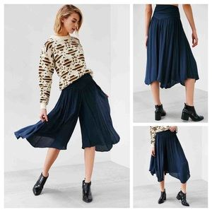 Urban Outfitters Skirted Graze Wide Leg Cropped