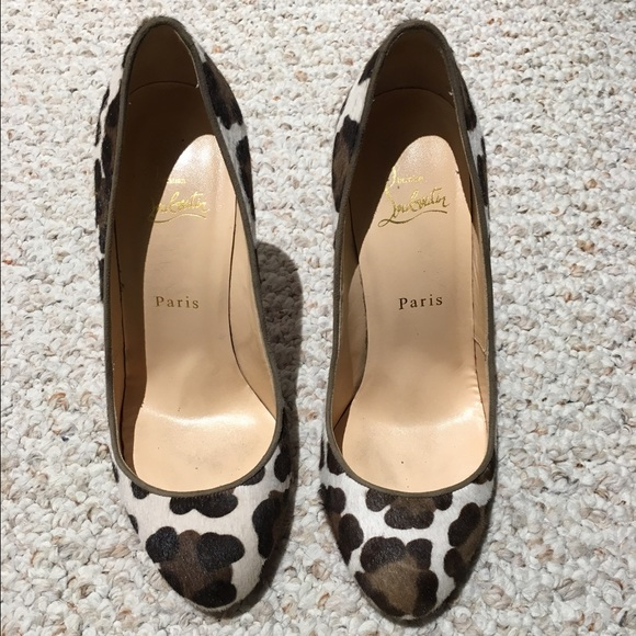 48 off christian louboutin shoes authentic used