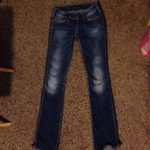 Silver Mckenzie Jeans Bbg Clothing