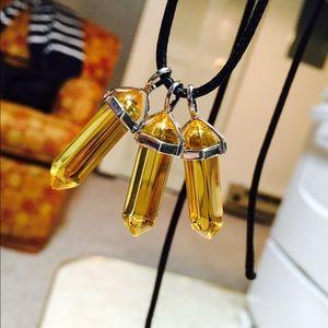 Stone necklaces handmade