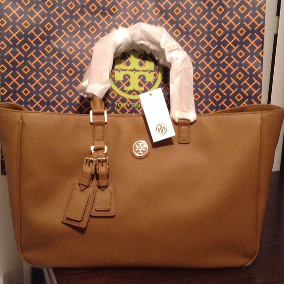8b2c78a85d21 Tory burch Leather Roslyn tote bag