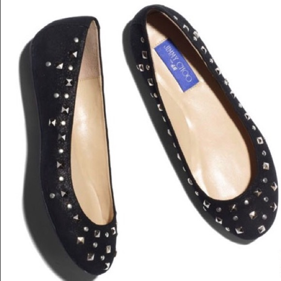 85203a0b1a Jimmy Choo for H&M Studded Ballet Flats