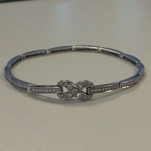 Jewelry - 14K Diamond Infinity Bracelet