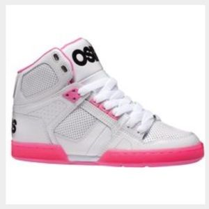 Osiris Shoes - Osiris white hightops