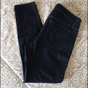 Joe's Tuxedo Stripe Skinny Jeans