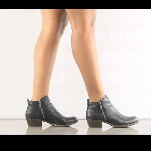 f66cd7d16073 Lucky Brand Shoes | Lucky Basel Flat Bootie | Poshmark