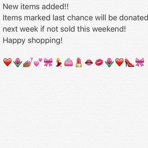 Other - New items! Last chance for some!