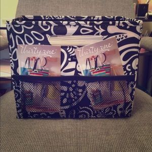 Thirty One Bags Thirty One Black Playful Parade Fold N
