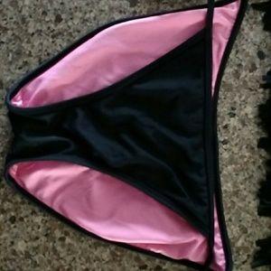 PINK Victoria's Secret Swim - Pink Fringe Bikini
