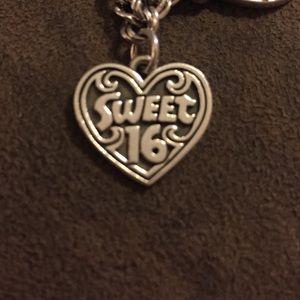James Avery Sweet 16 Charm