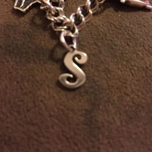 James Avery Script Initial Charm 'S'