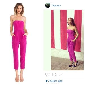 Naven Pants - Beyoncé Approved: NWT Naven Silk Foxy Jumpsuit