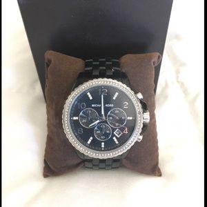Michael Kors black watch